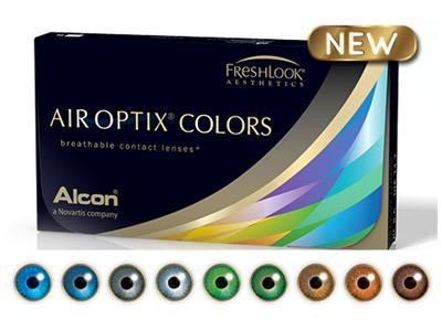 لنز فصلی رنگی AIR OPTIX COLORS