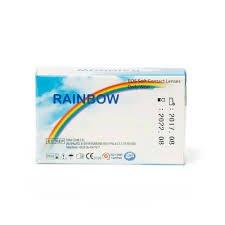لنز طبی رنگی سالانه rain bow
