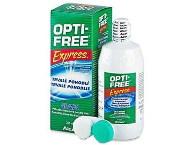 مایع لنز optifree 35ml