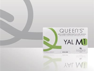 لنزهای-فصلی سولکو - هایدروژل - Queen s M1 yal